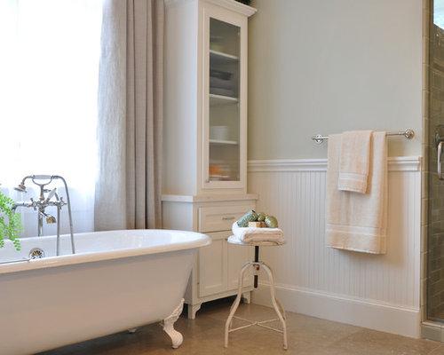 Beadboard bathroom home design ideas pictures remodel for Bathroom designs with beadboard