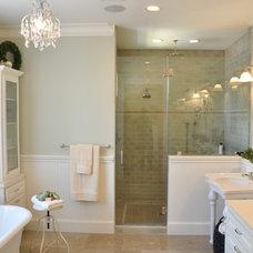 Traditional Bathroom by Allegro Builders