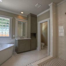Craftsman Bathroom by Southern Green Builders
