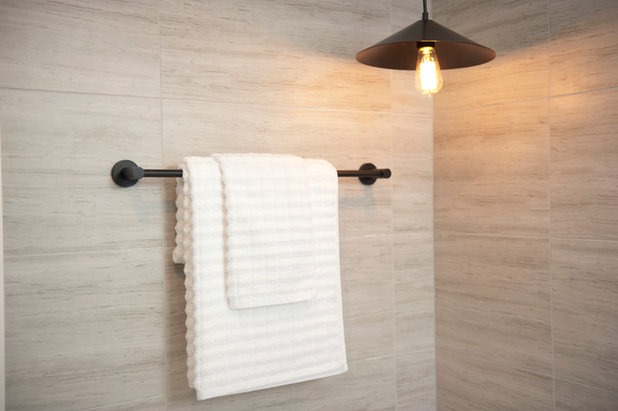 contemporary bathroom by mink home staging - Staging A Bathroom