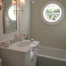 Traditional Bathroom by Shelter 7