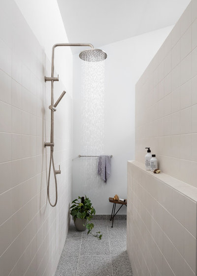 Contemporary Bathroom by BuildHer Collective