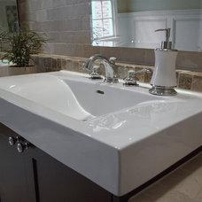 Eclectic Bathroom by Cabinets Of Atlanta Inc.