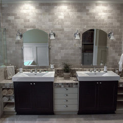 eclectic bathroom by Cabinets Of Atlanta Inc.