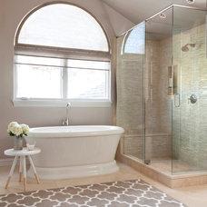 Transitional Bathroom by Ashley Campbell Interior Design