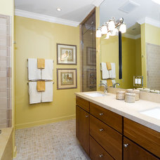 Eclectic Bathroom by Design Solutions