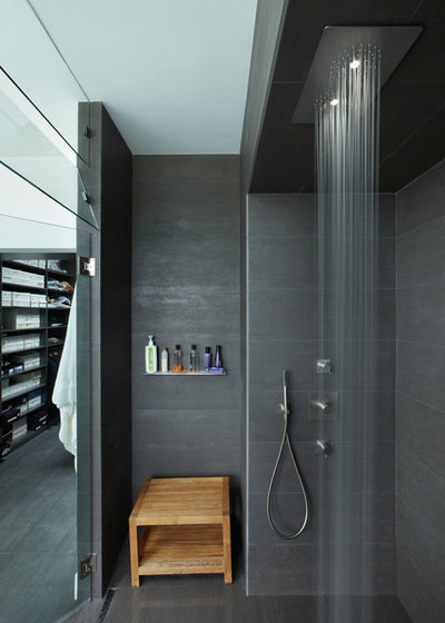 pour ou contre un ciel de pluie dans la douche. Black Bedroom Furniture Sets. Home Design Ideas