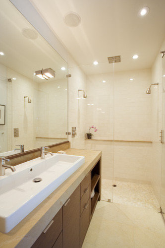 galley bathroom home design ideas pictures remodel and decor