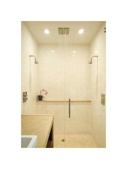 Double Headed Shower   Houzz