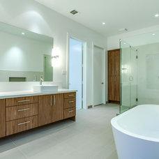 Modern Bathroom by ICF Custom Homes