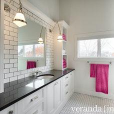 Contemporary Bathroom by Veranda Estate Homes & Interiors