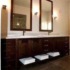 Bathroom by cke interior design llc