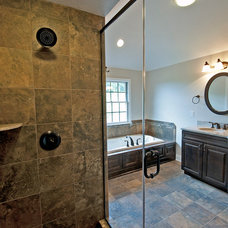 Craftsman Bathroom by Graziani Homes