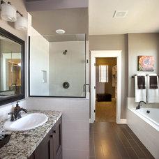 Contemporary Bathroom by Alysse Matthews interiors