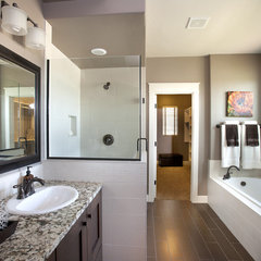 contemporary bathroom by Alysse Matthews interiors