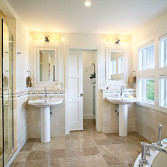 contemporary bathroom by Kitchens & Baths, Linda Burkhardt