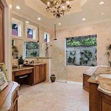 Mediterranean Bathroom by 41 West