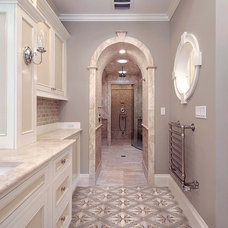 Traditional Bathroom by Artsaics Studios