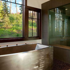 Contemporary Bathroom by RMT Architects