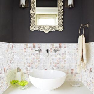 Trendy bathroom photo in San Diego