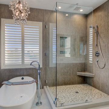 Amazing Modern Master Bath