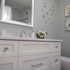 Traditional Bathroom by Deb Cove Design