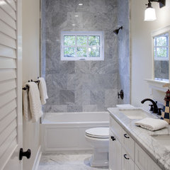 traditional bathroom by Flagg Coastal Homes