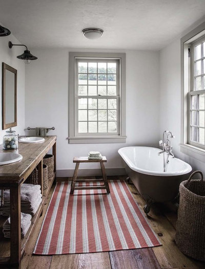 Farmhouse Bathroom by Di Biase Filkoff Architects