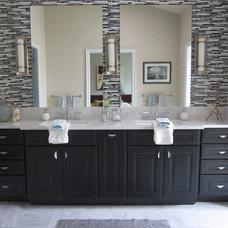 Modern Bathroom by Busybee Design
