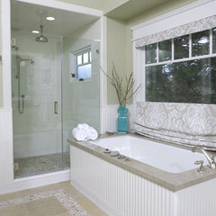 contemporary bathroom by Amoroso Design