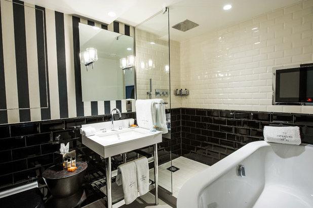 コンテンポラリー 浴室 by C.P. Hart Bathrooms