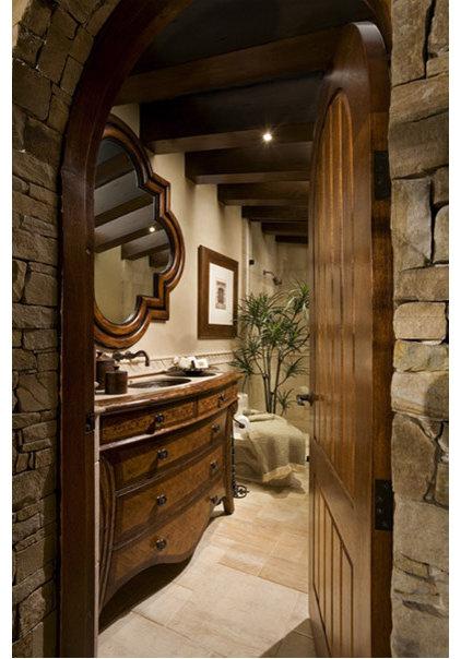 Mediterranean Bathroom by AMS Landscape Design Studios, Inc.