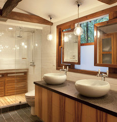 modern bathroom by Amy A. Alper