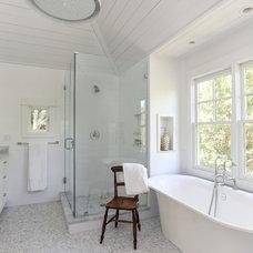 Beach Style Bathroom by Matthew Bolt Graphic Design