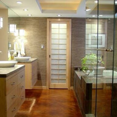asian bathroom by Hilsabeck Design Associates, Inc.