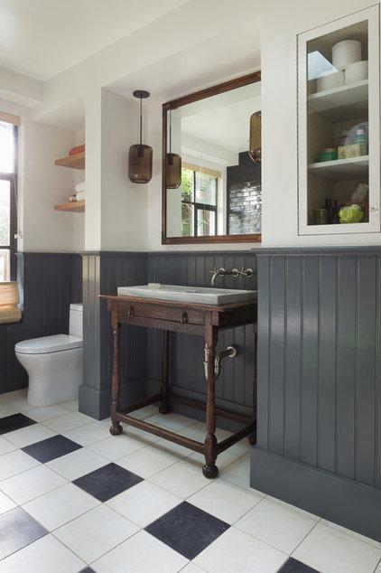 Eclectic Bathroom by Alden Miller Interiors