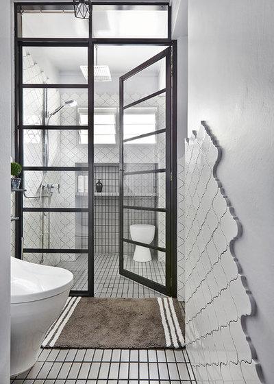 Contemporary Bathroom by Three-d Conceptwerke