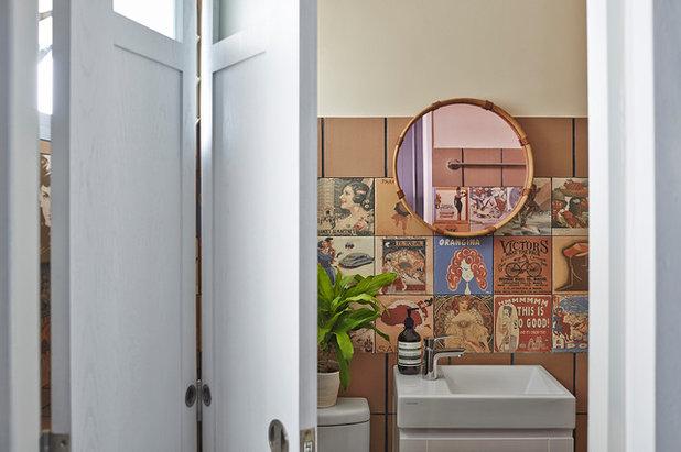 Eclectic Bathroom by Three-d Conceptwerke