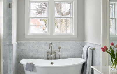 Bathroom of the Week: Classic Style Revives a Cramped 1920s Relic