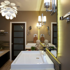 Modern Bathroom by LaMantia Design & Construction