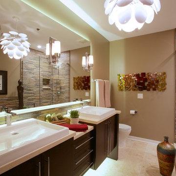 An Urban Bathroom Remodel in Chicago