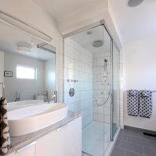 Contemporary Bathroom by Moneca Kaiser DESIGN BUILD