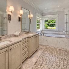 Transitional Bathroom by Studio 212 Interiors
