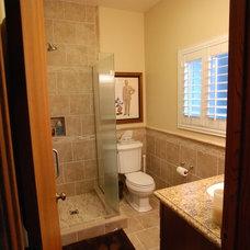 Modern Bathroom by Dreamworks Remodeling