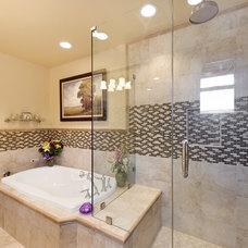 Traditional Bathroom by Burgin Construction