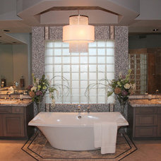 Traditional Bathroom by ModaScapes Interior Design