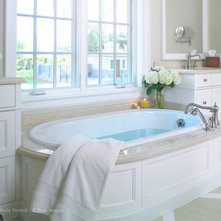 Traditional Bathroom by K West Images, Interior and Garden Photography
