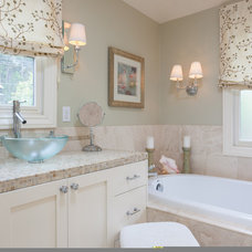 Transitional Bathroom by AND Interior Design Studio