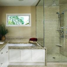 Traditional Bathroom by KMH design studio