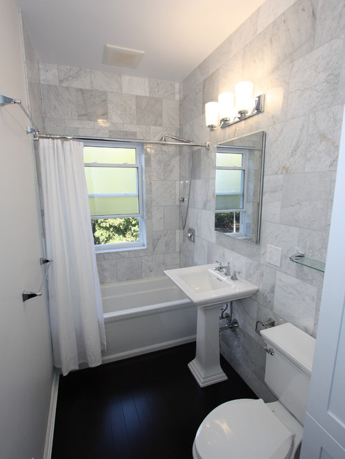 saveemail design build 4u chicago - Narrow Bathroom Design